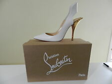$1495 Christian Louboutin Survivita Spike Red Sole Pump 38 US 8 Moving Sale!
