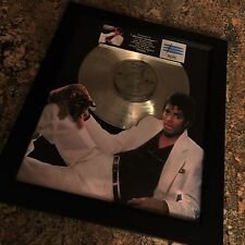 Michael Jackson Thriller Platinum Record Album Disc Music Award MTV Grammy RIAA