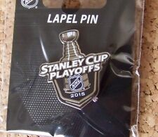 2015 Stanley Cup Playoffs trophy logo lapel pin NHL SC