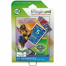 LeapFrog LeapPad Game Imagicard PAW Patrol Learning Software  3-5 yrs