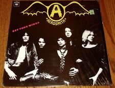 AEROSMITH GET YOUR WINGS LP STILL IN SHRINK WRAP