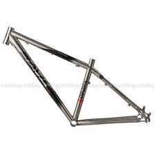 "SAVA 26"" Titanium Bicycle Frame Ti Mountain Bike Frame MTB Frame Size 16"""
