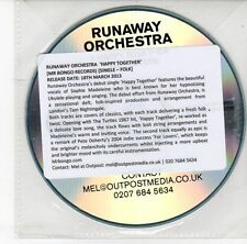 (DS955) Runaway Orchestra, Happy Together - 2013 DJ CD