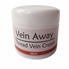 VEIN AWAY CREAM Remove ugly Spider / Thread Veins! Pain Free and Quick - Clear