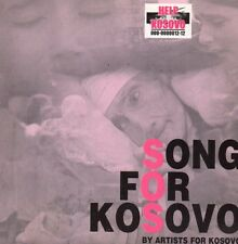 ★☆★ CD Single Sandra KIM & Various Artists Song For Kosovo 2-track CARD SLEEVE