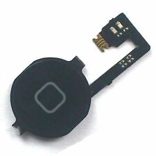 Home button for iPhone 4 and 4G Black menu lock switch with flex + UI iPhone4