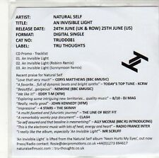 (ED614) Natural Self, An Invisible Light - 2013 DJ CD