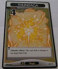 Carte Kingdom Hearts Thundaga rare !!!