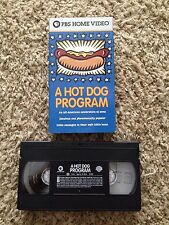 A Hot Dog Program (1999) - VHS Video Tape - Documentary - PBS Home Video
