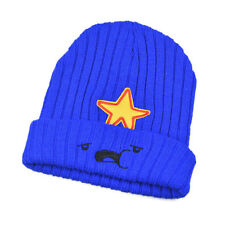 Mens Womens Knitted Wool Adventure Time Lumpy Space Princess Beanie Hat Ski Cap