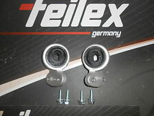 2 PIECE SET BEARING WITH MOUNT HYDRAULIC BMW E46 FRONT AXLE RIGHT LEFT