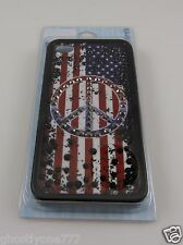 for Iphone 4 / 4S American Peace US Flag Bling crystal case i phone 4 Patriotic