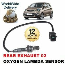 FOR KIA PICANTO 1.25 2011--  NEW POST CAT REAR EXHAUST 02 OXYGEN LAMBDA SENSOR
