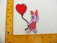 EMBROIDERED Winnie the pooh Piglet  #36 Iron On / Sew On Patch