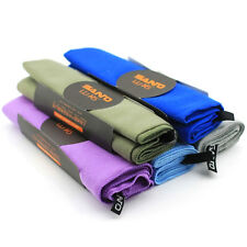 5 Pcs SANTO Camping Hiking Backpacking Travel Towel Absorbant Micro Soft Fibre