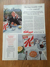 1964 Kellogg's Special K Ad