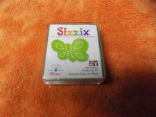 """Sizzix Originals Small Green Die """" Butterfly #1 """"  38-0230  Used W/ Case"""