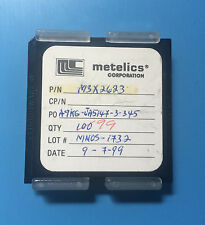 M3X2623 METELICS CAPACITOR CHIP RF MICROWAVE 99/units