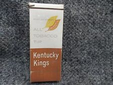 VIETNAM ERA C RATION CIGARETTES PACKAGE OF FOUR SAMPLE PACK KENTUCKY KINGS