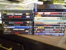(22) Bruce Willis DVD Lot: (3) Die Hard Armageddon Criterion Red Sin City Jackal