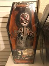 Living Dead Dolls Series 18  Calavera  Very Cool & Rare Halloween Doll Goth NEW