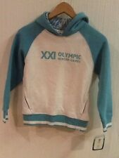 HBC VANCOUVER 2010 WINTER OLYMPIC GAMES Girls 7/8 Hoodie Hooded Sweatshirt NWT