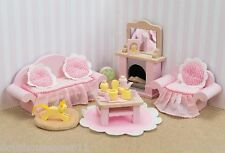 SITTING ROOM -DAISY LANE DOLLS HOUSE WOODEN  FURNITURE-LE TOY VAN