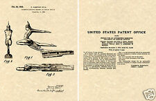 1935 PONTIAC CHIEF HOOD ORNAMENT PATENT Art Print READY TO FRAME!!!!! GM CAP