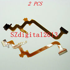 2PCS/ NEW LCD Flex Cable For JVC GZ-  MG750 HD500 HD550 HD620 HD520 Repair Part