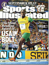 August 31, 2009 Usain Bolt, Track and Field, Jamaica Sports Illustrated A