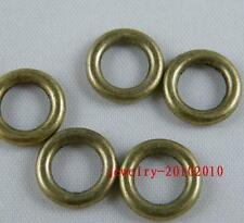 150pcs Bronze Plated Smooth Rings Connectors 10.5x2mm zn28189-2