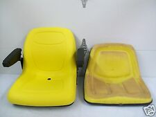 YELLOW SEAT JOHN DEERE 130,160,165,316,318,322,330,332,420,430,STX38 MOWERS #GM
