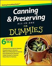 Canning and Preserving All-in-One for Dummies 6 bks. in 1 by Consumer Dummies...
