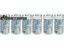 6X Olight CR123A 1600mAh 3.0V Rechargeable Li-ion Battery for Flashlight Torch