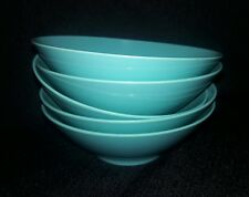 Florence Prolon Turquoise Melmac Melamine Cereal Berry Bowls 7806