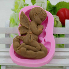 3D Baby Angel Silicone Soap Mold Candy Shower Mould Cake Fondant Decorating Tool