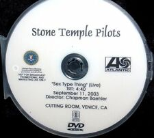 STONE TEMPLE PILOTS Sex Type Thing LIVE Promo Music Video DVD Single NOT A CD