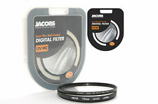 Jacobs Super Slim UV Multi Coated MC Filtro 72mm Para Nikon Canon Sony Nuevo