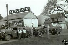 O.J.UHL SINCLAIR DINO GAS STATION SUPPLY SERVICE TANKERS OHIO ADVERTISING