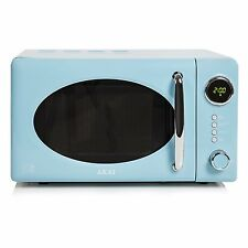 New Akai A24006BL Pull Handle Digital Microwave, 700 W, 20 L - Blue