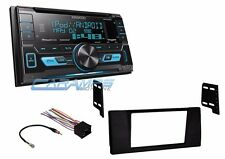 NEW KENWOOD STEREO RADIO W USB/AUX & SIRIUS XM W INSTALL KIT FOR 1997-2001 E39