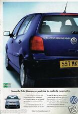 Publicité advertising 2000 VW Volkswagen Polo