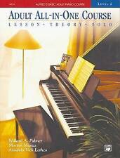 Alfred's Basic Adult All-in-One Piano Course by Willard  Manus Palmer (Paperback
