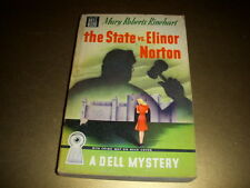 THE STATE VS. ELINOR NORTON by Mary Roberts Rinehart, Dell Book #203, Vintage PB