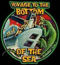 60's TV Classic Voyage to the Bottom of the Sea Giant Lizard custom tee Any Size