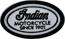 Indian Motorcycle Oval embroidered sew on cloth patch   (yy)