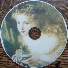 VINTAGE fate ANGELI ELF filastrocca ALFABETO Poster Art 1750 immagini DVD