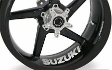 4x Suzuki GSX-R 750 600 1000 Wheel Rim Sticker Decal Any Colour