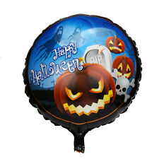 Halloween pumpkin head Decorative Foil Balloons Haunted House Party Xmas Gifts