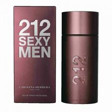 212 Sexy by Carolina Herrera 3.4 oz EDT Cologne for Men New In Box